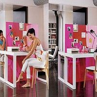 2face home office colorful