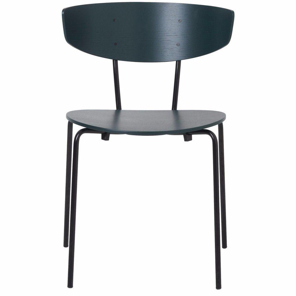 Herman Chair In Dark Green By Ferm Living Chair Ferm Living