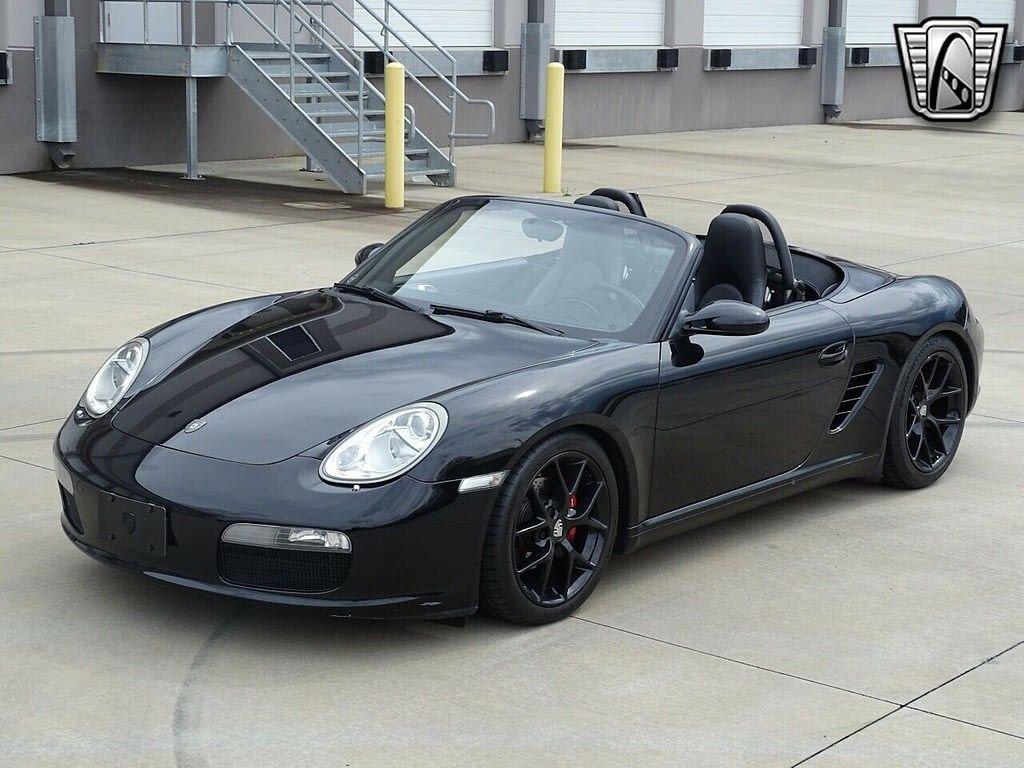 Black 2006 Porsche Boxster 2.7L H6 F 5 Speed Automatic