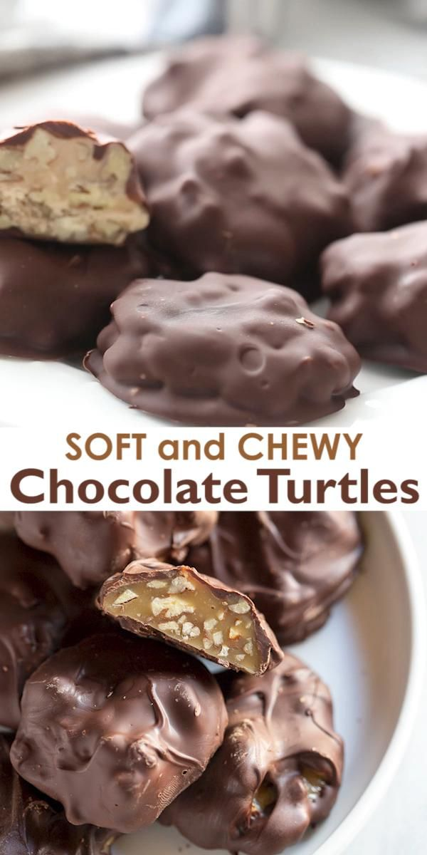 Photo of Homemade Chocolate Turtles