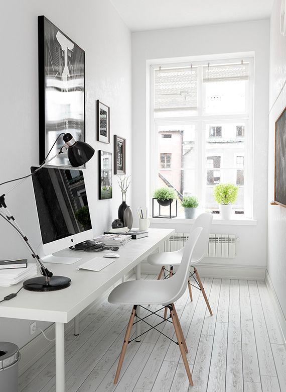 Oficina en casa, oficina moderna, oficina creativa, oficinas ...