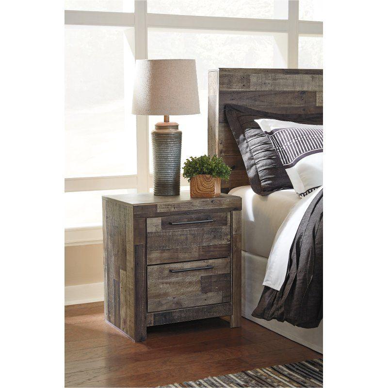 Best Modern Farmhouse Rustic Nightstand Broadmore Furniture 400 x 300