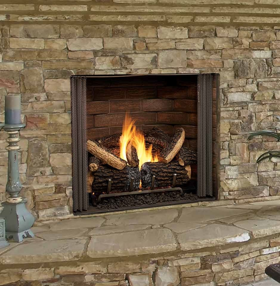 furniture affordable outdoor gas fireplace insert kits with