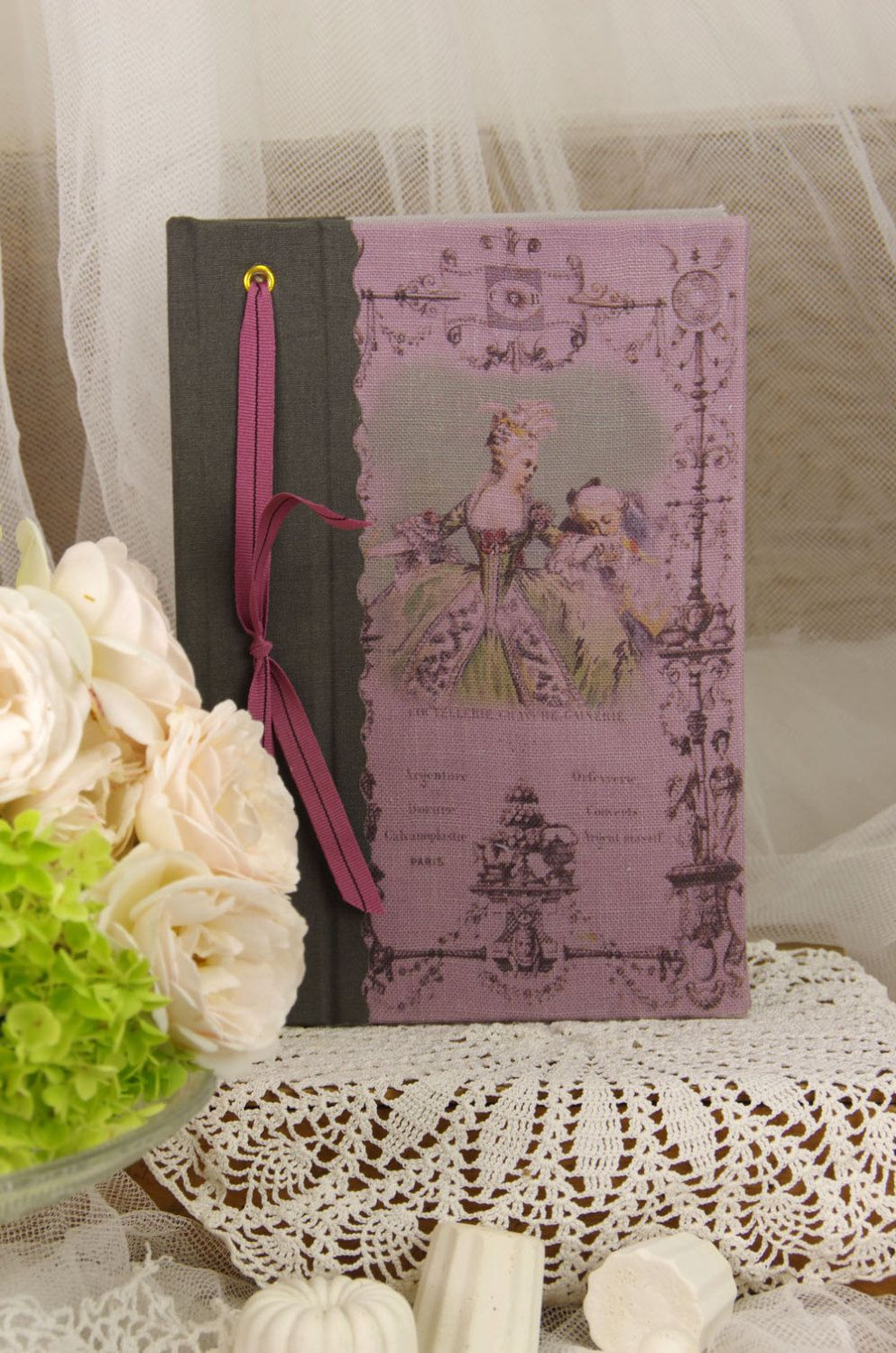 Telephone book Marie Antoinette vintage shabby chic french style ...