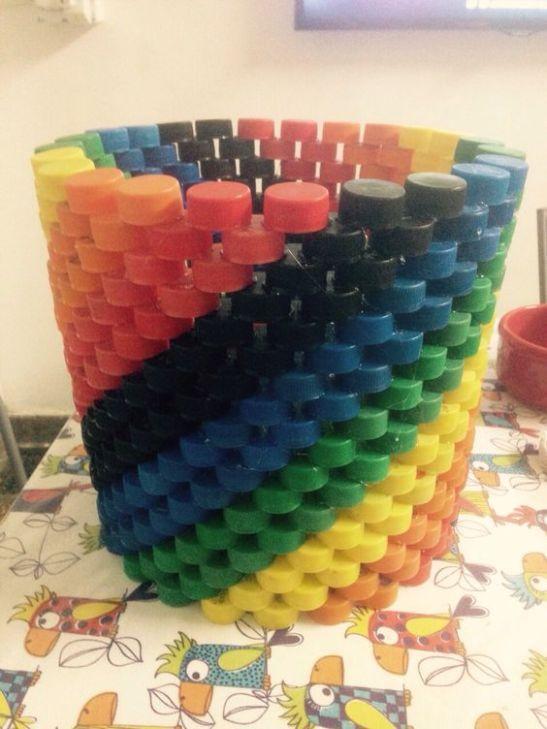 Flaschenverschlüsse recyceln #flaschenverschlusse #recyceln #bottlecaps