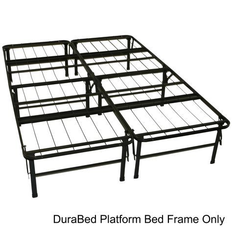 The Durabed Platform Bed With Its Very Heavy Duty Steel Wire Mesh Support Serves As A Sturdy Squeak Free Mattress Support S Home Decorating Ideas Folda