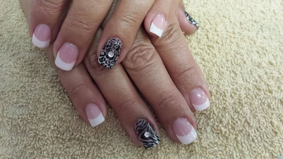 Amazing Nail Concept product with nail stamping.