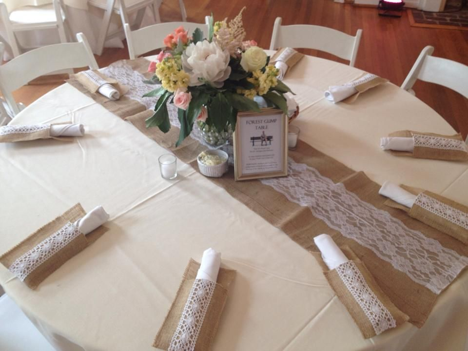 Superior Burlap Runner Round Table Google Search Tanya S Wedding
