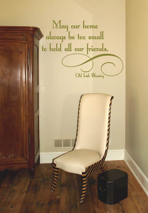 Wall Decals For Home may our home wall decal | wall decals, bedrooms and walls