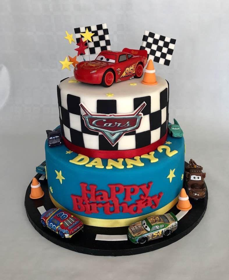 Cars lightning mc queen cake queen birthday party queen