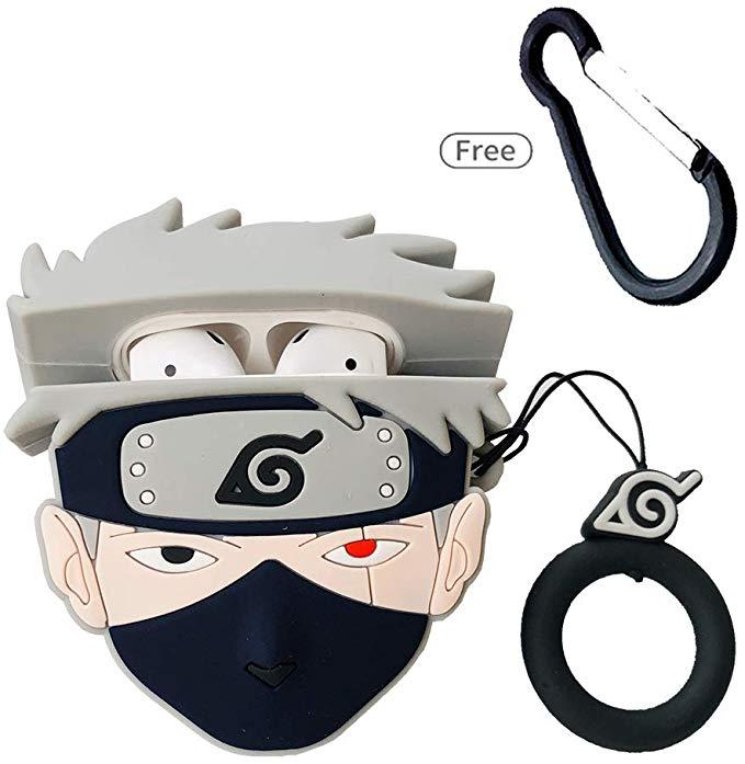 Amazon Com Airpods Cute Case New 3d Cartoon Character Naruto