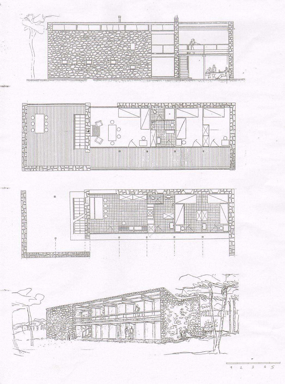 hight resolution of le corbusier villa le sextant les mathes francia 1935