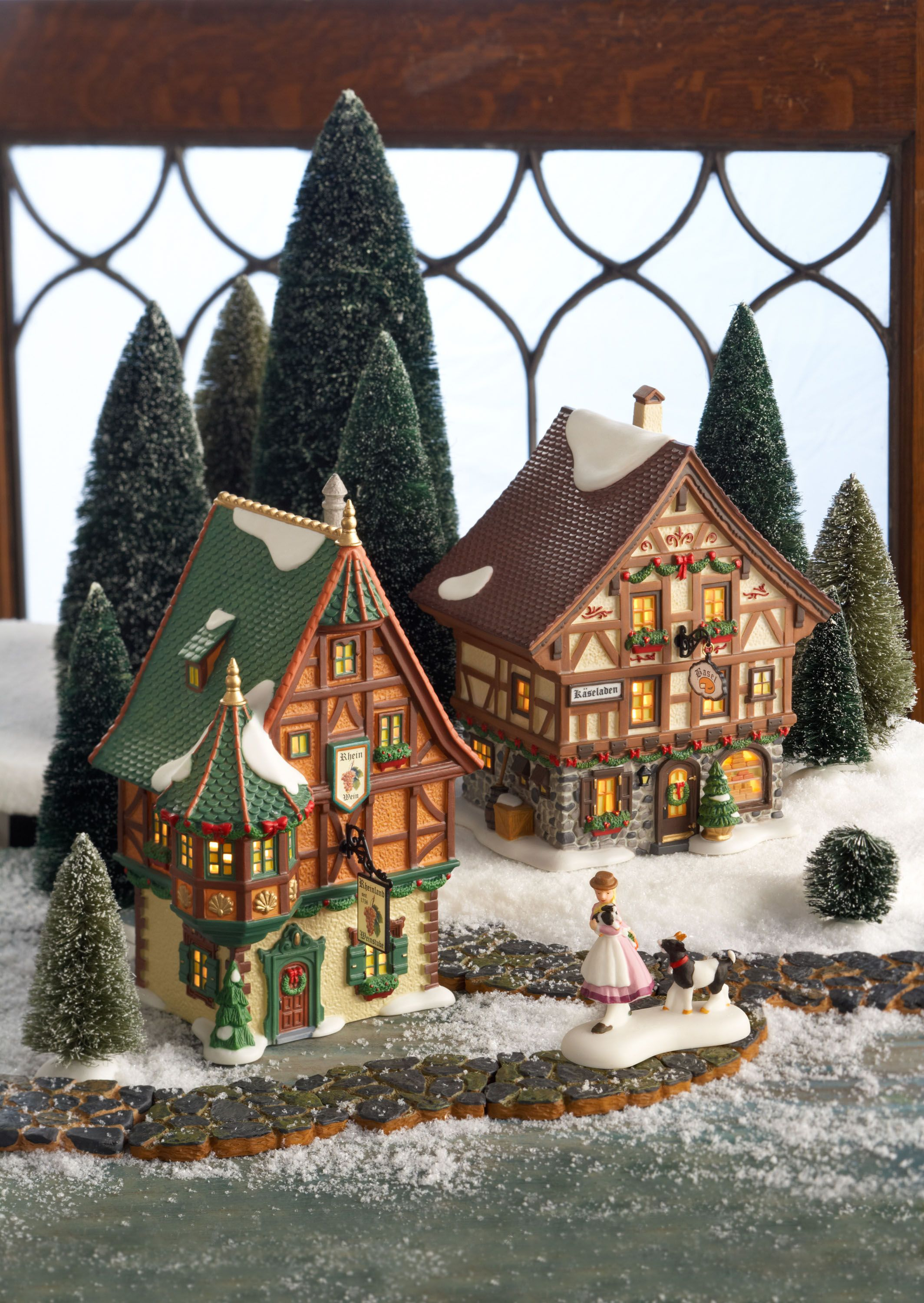 Christmas Village Collections.Department 56 Alpine Village Series Department 56 Village
