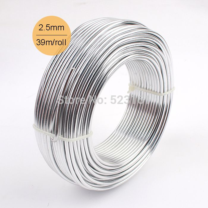 Wholesale 0.5kg Anodized Aluminum DIY Craft Wire 2.5mm Round 10 ...