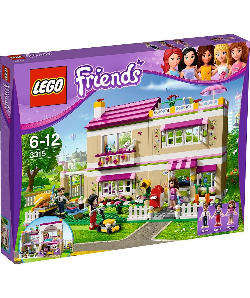 Lego friends heartlake grand hotel 41101 lego friends uk - Buy Lego Friends Olivia S House Playset 3315 At Argos Co Uk