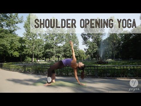 shoulder opening yoga routine confidence boost open