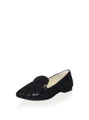 52% OFF Australia Luxe Collective Women's Classica Sequin Velvet Flat (Black)