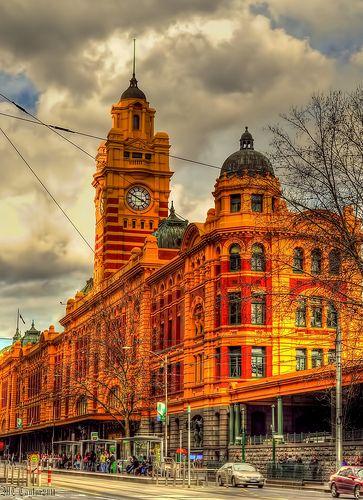 Flinders St Station, Melbourne, Australia