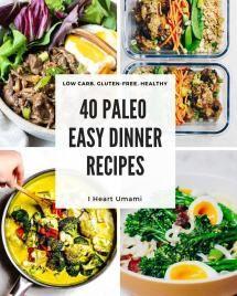 40 Easy Paleo Dinner Recipes images