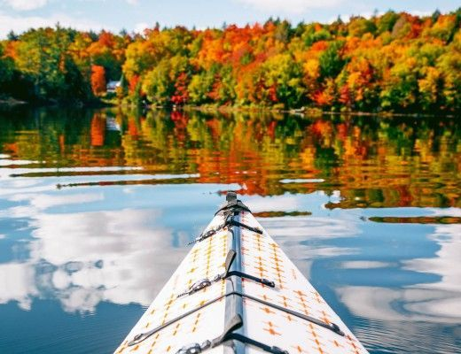 Photo of How to Plan a Camping Trip –  Autumn kayak camping in the Adirondacks.  – #campi…