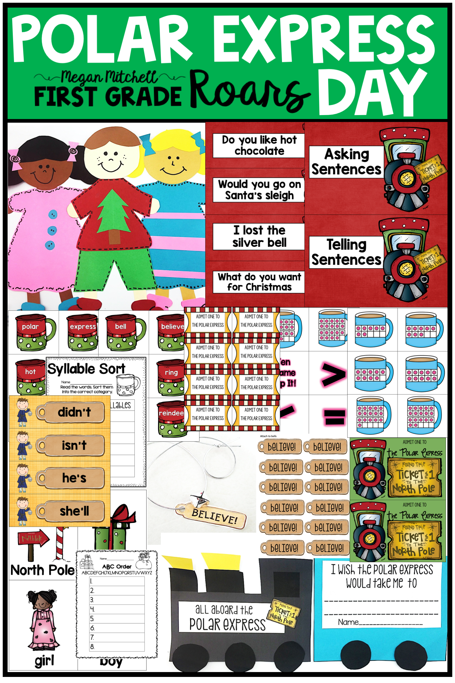 Polar Express Activities With Images
