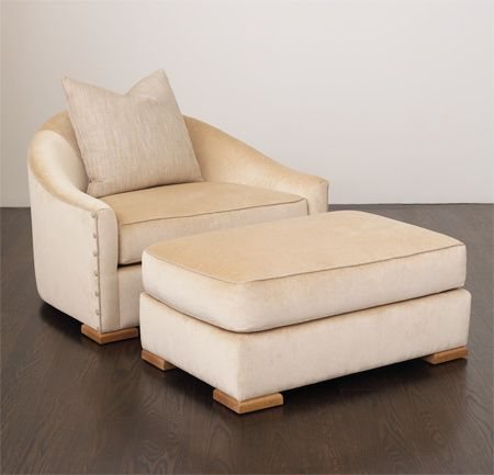 Dupre Lafon Chair And Ottoman Lounge Chairs Ottomans Benches