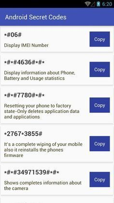 Android Secret Codes for Android - APK Download