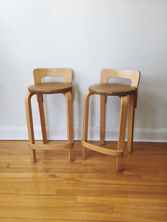 Vintage Alvar Aalto Kitchen Bar Stools . Bentwood Chairs & Vintage Alvar Aalto Kitchen Bar Stools . Bentwood Chairs | Self ... islam-shia.org
