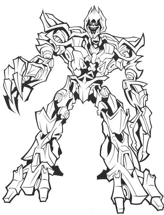 Transformers Printable Coloring Pages Printable Coloring Pages
