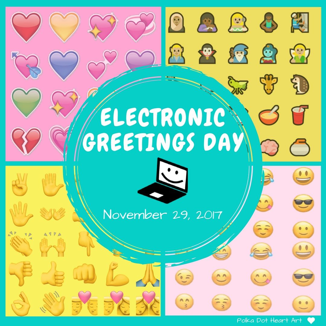 Electronic Greetings Day November 29 2017 Designed By Polka Dot
