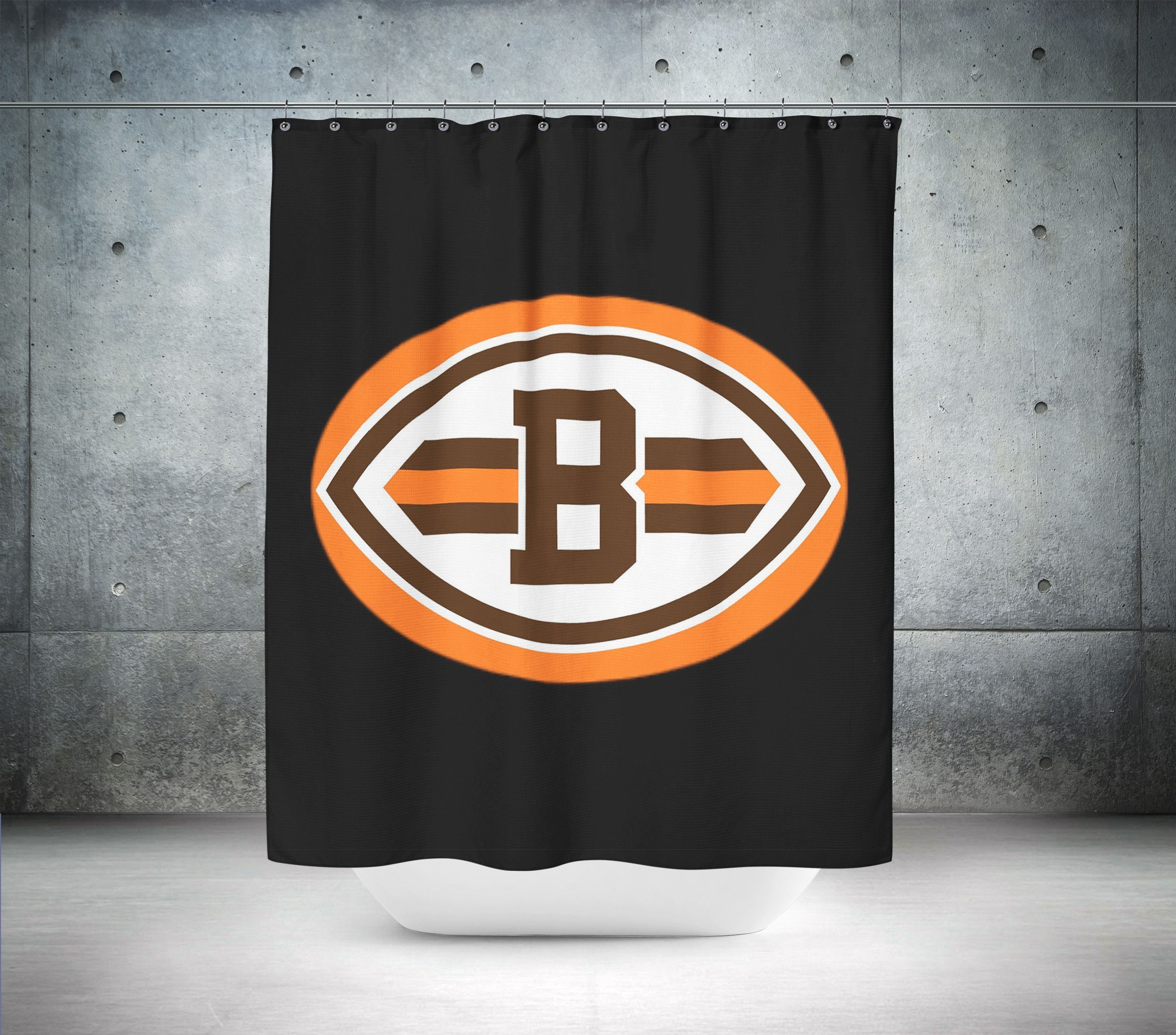Cleveland browns nfl shower curtain products