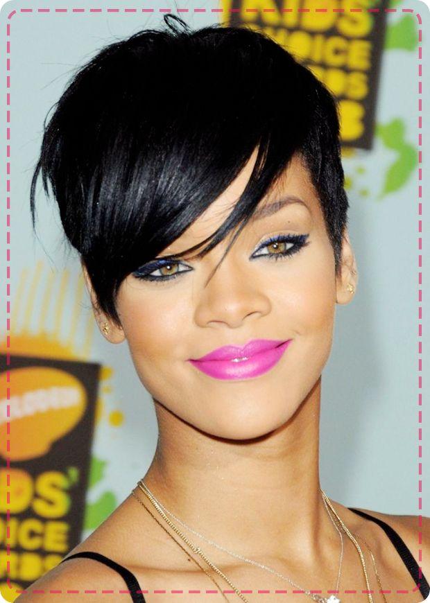 How To Style Your Pixie Cut Like Rihanna Hair Hair Hair