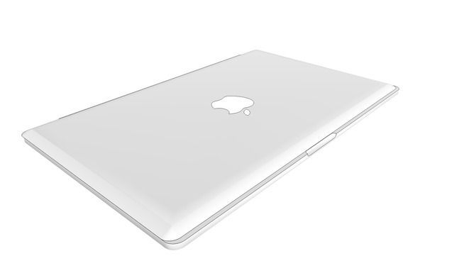 shoes for cheap discount sale size 7 17 Inch MacBook Pro With Retina Display - Closed - 3D ...