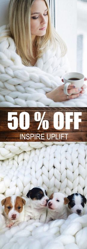 """Handmade Chunky Knit Blanket - ⭐⭐⭐⭐⭐ (5/5 Stars)  This luxuriously beautiful Handmade Chunky Knit Blanket definitely creates a decorative impact when showcased in any bedroom or living room! Its super-chunky knit makes it a stylish yet neutral statement piece that never fails to generate that """"WOW"""" factor that every homeowner seeks to obtain! Currently 50% OFF with FREE Shipping! Not sold in stores. Share with somebody who'd like this!  #Blanket"""