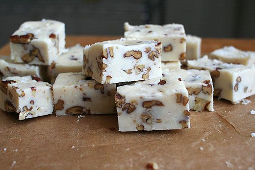 Lottie Doof Buttermilk Pecan Fudge Sub In Pretzels For Nuts Fudge Recipes Pecan Fudge Recipe Caramel Recipes