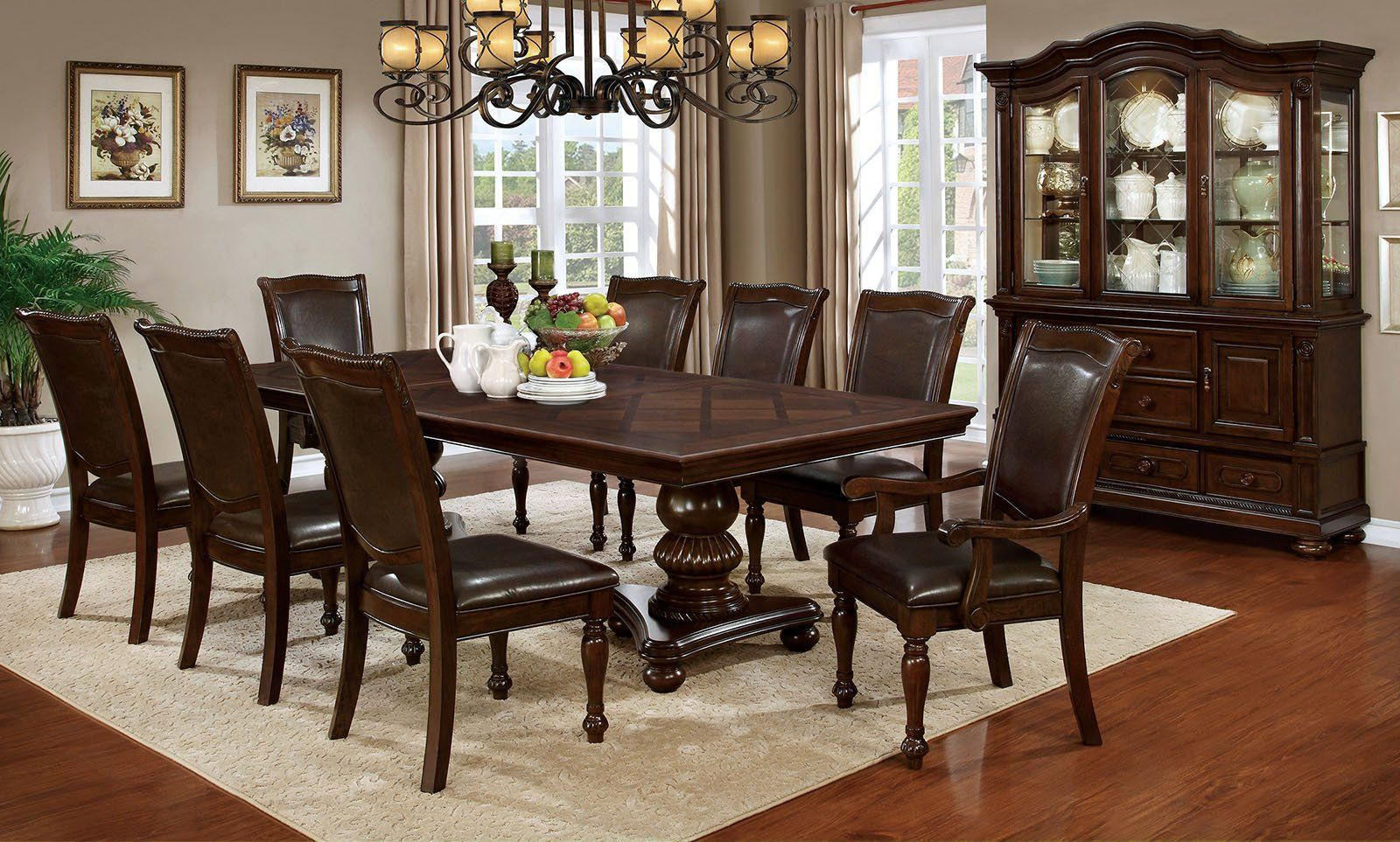 Alpena Traditional Dining Table Set  Products Entrancing Traditional Dining Room Set Inspiration