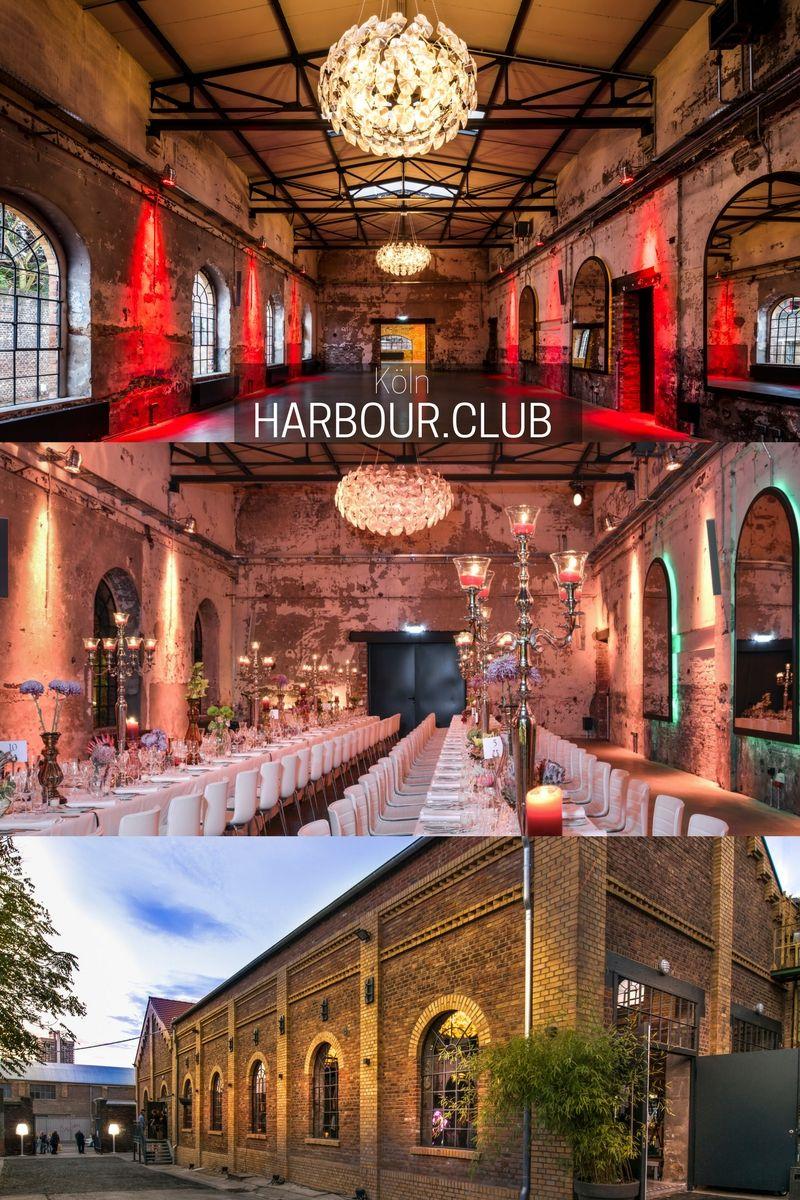 HARBOURCLUB in Kln Die extravagante Eventlocation mit industriellem Flair fr romantische