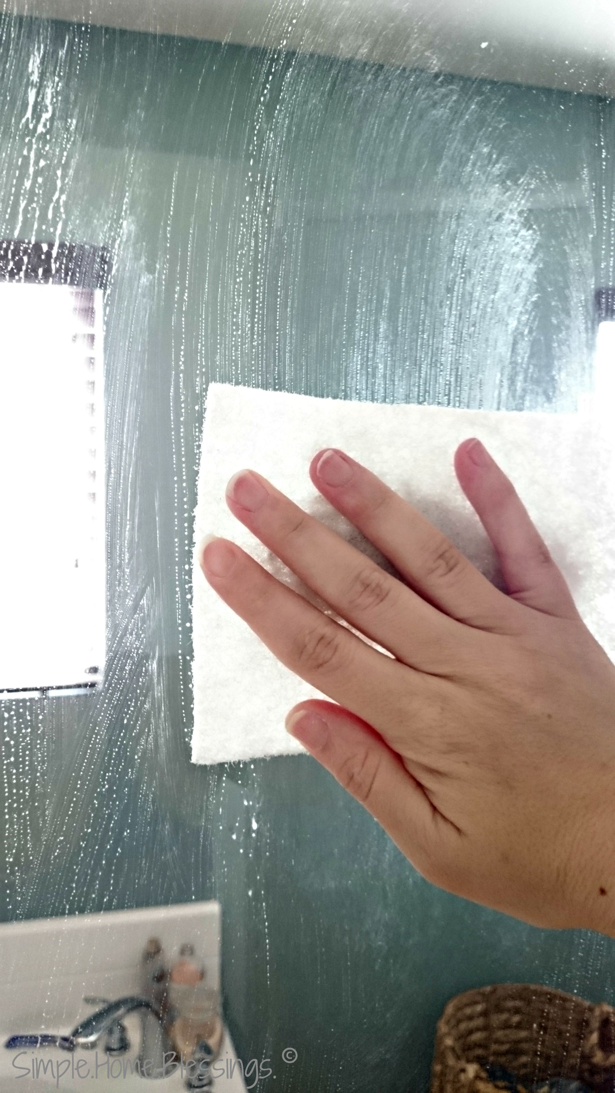 Simple scrubber for shower glass cleaning pinterest cleaning simple scrubber for shower glass planetlyrics Gallery
