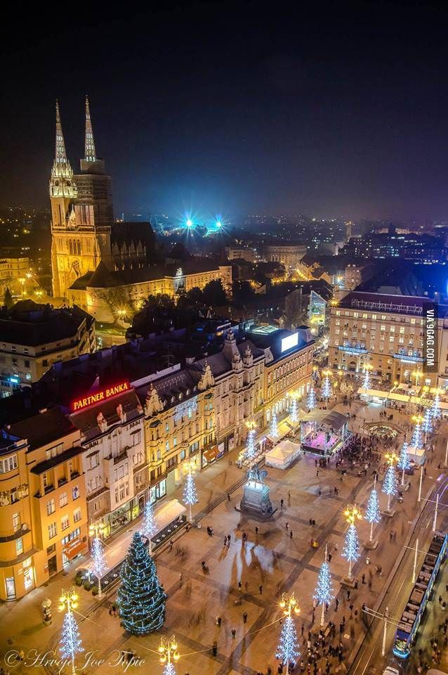 My Hometown During The Holidays Zagreb Croatia Croatia Holiday Zagreb Croatia Zagreb