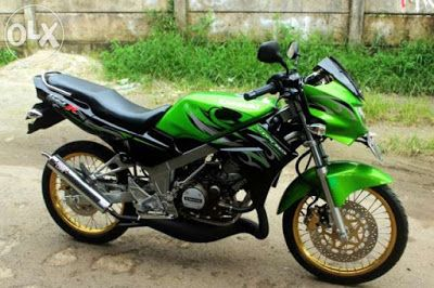 Modifikasi Motor Ninja R Warna Hijau Motorcycle Vehicles