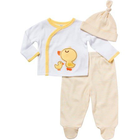 13a5511fd Gerber Newborn Baby Neutral Duck Take Me Home Set
