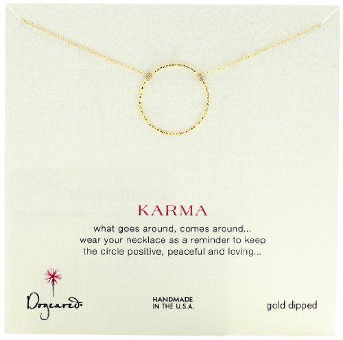 "Dogeared ""Sparkle Karma"" Medium Sparkle Karma Gold Necklace Dogeared,http://www.amazon.com/dp/B0099SIO16/ref=cm_sw_r_pi_dp_TgR3sb1EZGWXBB94"