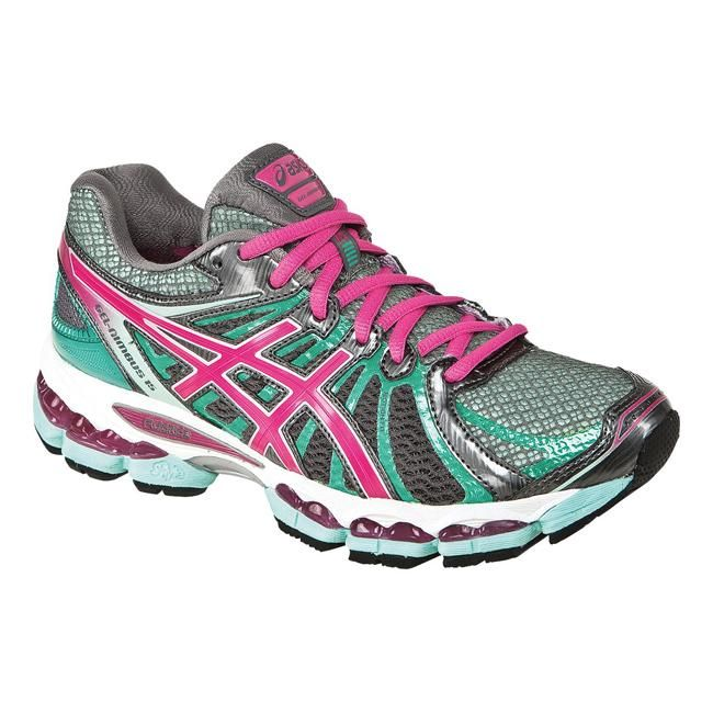 ASICS Gel Nimbus 15 Running Shoes Women's 7 Titanium/hot pink/mint NEW! in  Clothing, Shoes & Accessories, Women's Shoes, Athletic