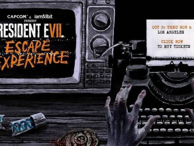Immerse yourself in the 'Resident Evil' video game at this