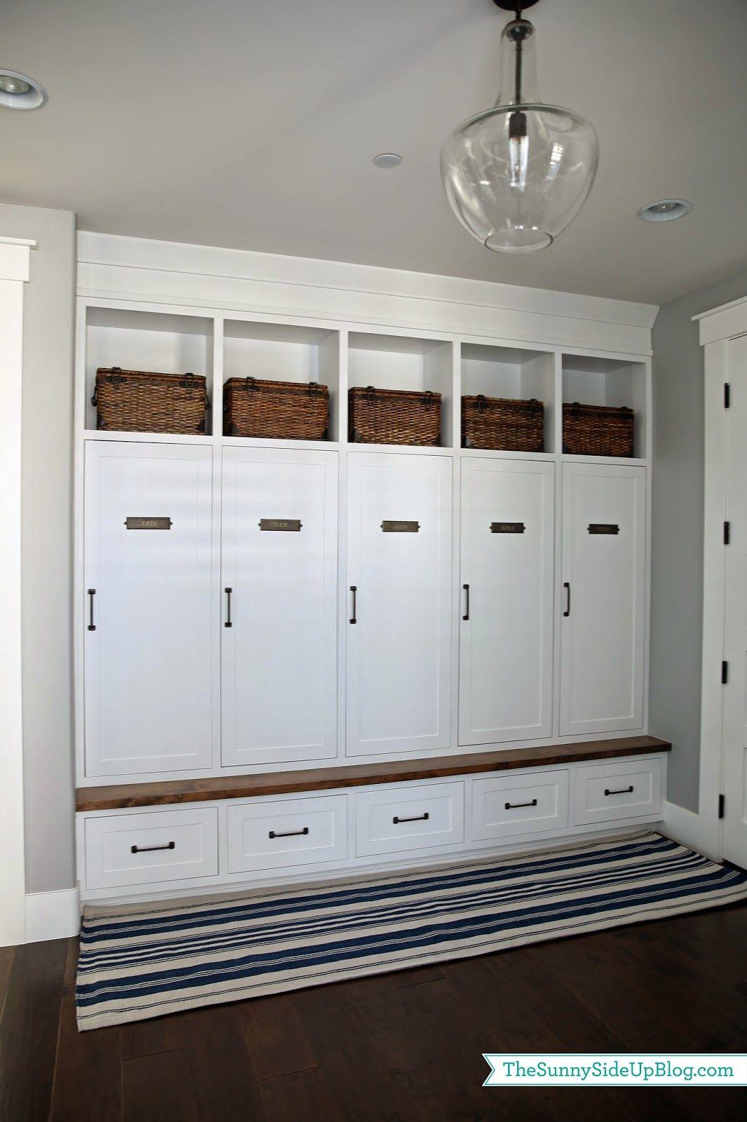 Mudroom rug attempt mudroom drawers and doors