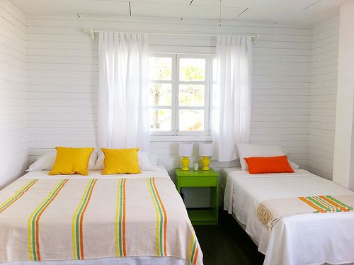 Sunny Citrus Bedroom
