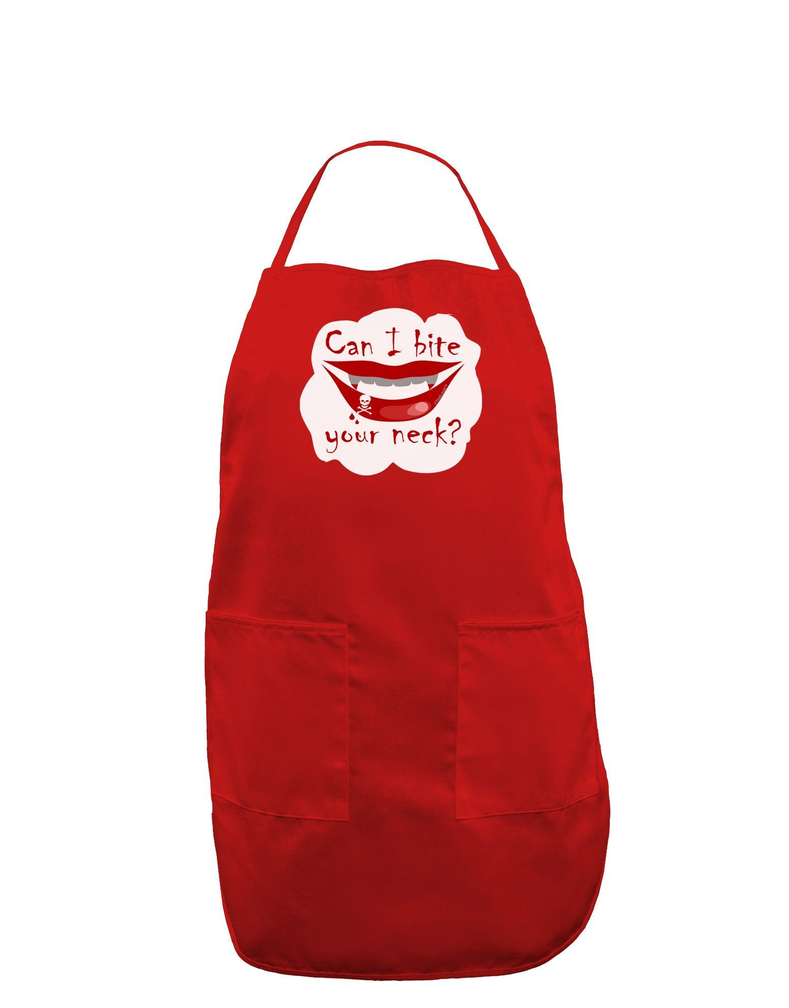 TooLoud Bite your neck Dark Adult Apron