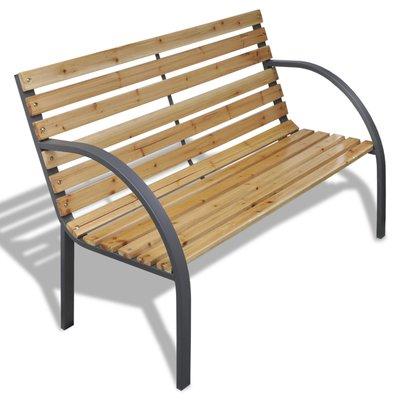 Winston Porter Wooden Garden Bench In 2020 Outdoor Furniture