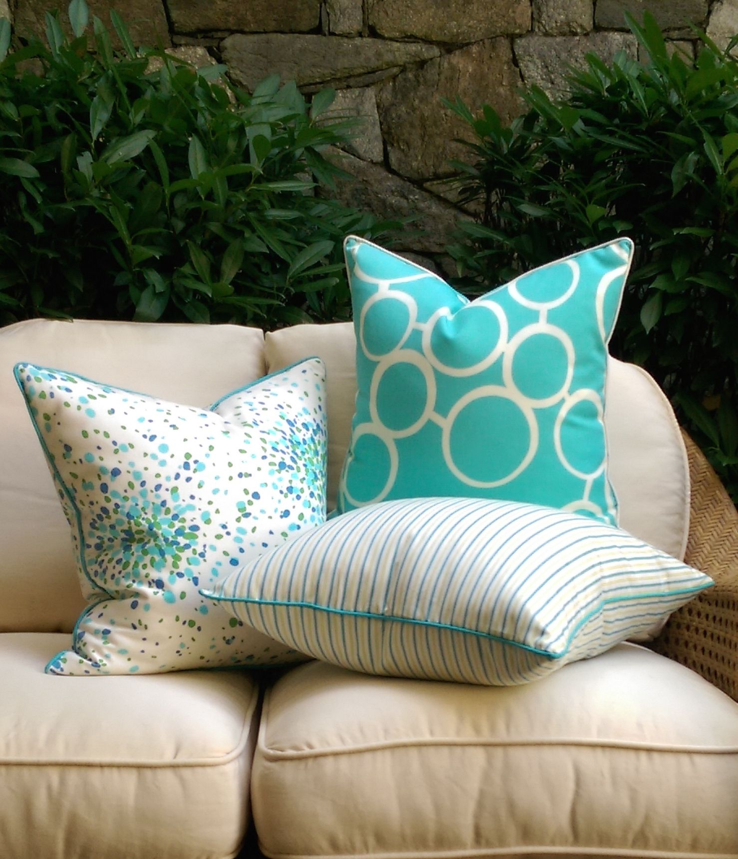 beaded indoor cotton lumbar design nautiluslumbar rightside pillow beach pillows nautilus shell