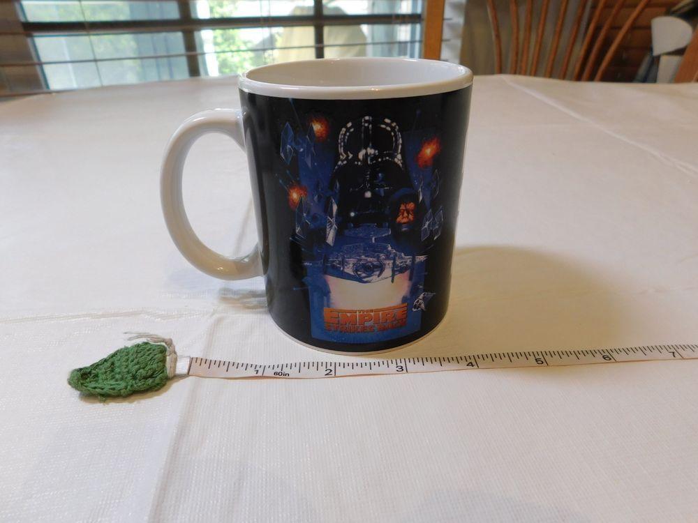 Star Wars Galerie The Empire Strikes Back Coffee Cup Mug Vintage Darth Vader Empire Strike Coffee Cups Mugs